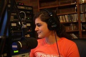 Sylvia at WMMT