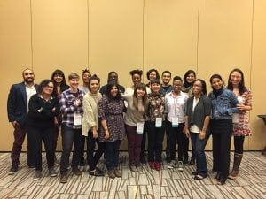AIR's New Voices scholars at the 2016 Third Coast Conference